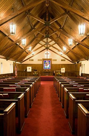 Sanctuary - First Christian Church of Mineral Wells, Texas